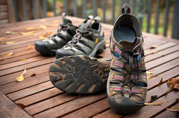 Как выбрать обувь для похода