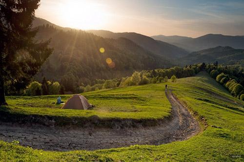 Как выбрать место для палатки