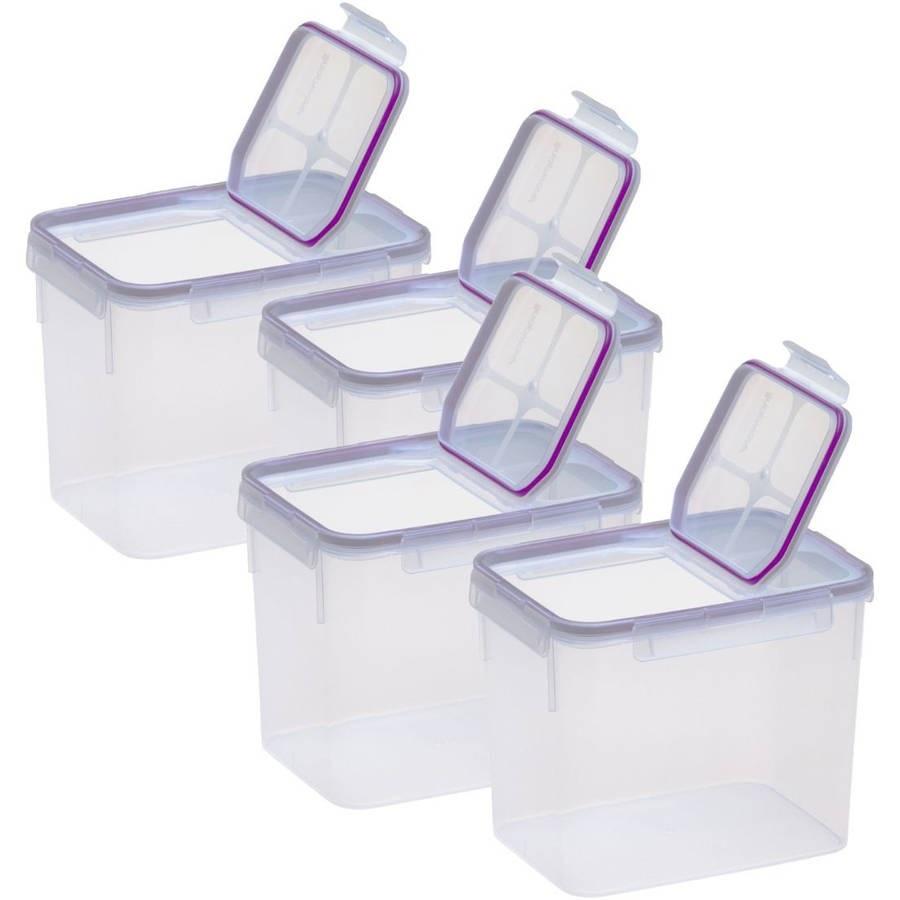 Прямоугольные пластиковые контейнеры