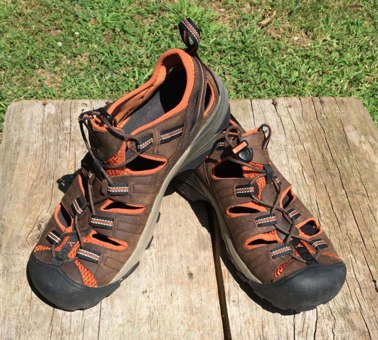 Защита обуви в походе