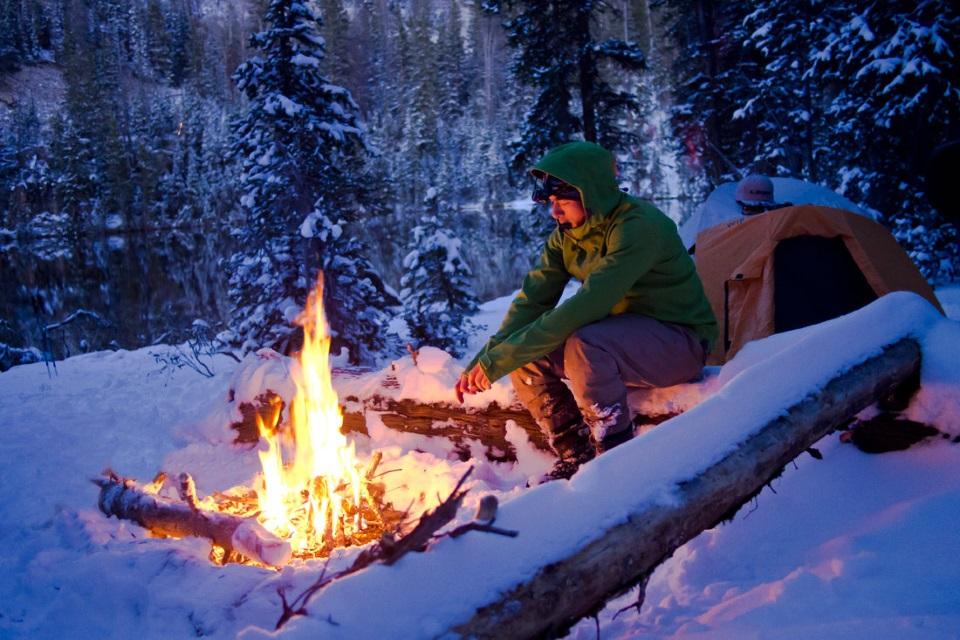Поход в зимний лес