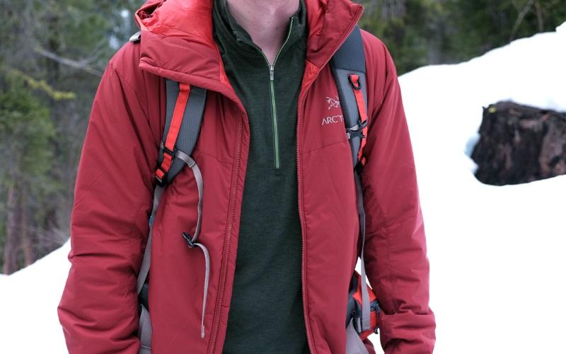 Современная синтетическая куртка