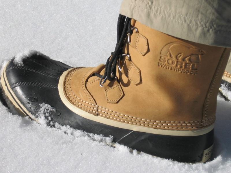 Сапоги для зимних походов